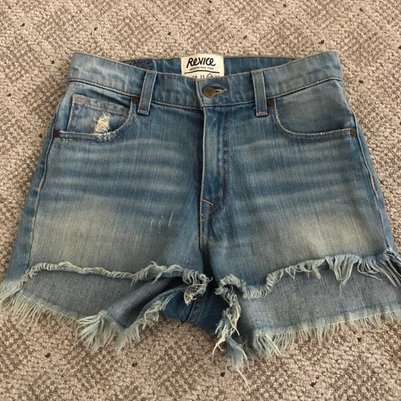 REVICE Pants - REVICE Denim Distressed Shorts